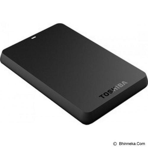 TOSHIBA Canvio Basic 3.0 Portable Hard Drive 1TB [HDTB310AK3AA] - Black - Hard Disk External 2.5 Inch